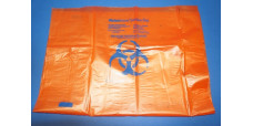 Fisherbrand 01814C Orange Biohazardous Autoclave Bags 25X35