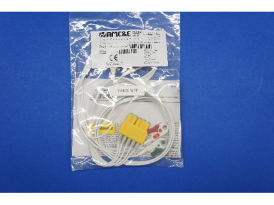 AMC&E LW-309DS50/5A 5 Lead Disposable DIN to Pinch, 50