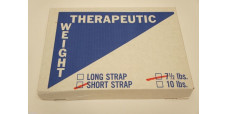 Therapeutic Weight Short Strap 7.5 lbs.
