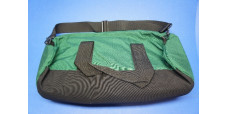 Fleming Oxygen Bag Green Clamshell Zipper 21 in x 8.5 in x 8.5 in