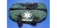 Diligear Oxygen Bag Green Clamshell Zipper 22 in x 10 in x 10 in