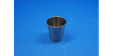 Vollrath 68470 Cup Solution Corrosion-Resisting Steel 7 oz ~ Lot of 3