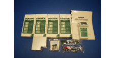 Diatek 600 Clinical Thermometer System 2 Probes Covers Wall Dispenser Manual