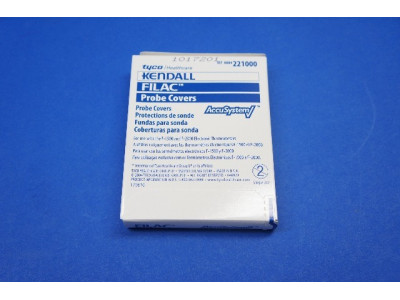 Tyco 221000 Kendall FILAC Disposable Probe Covers ~ 25 Boxes, 20 Per Box