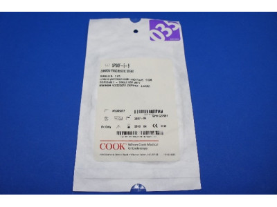 Cook Medical SPSOF-5-9 Zimmon Pancreatic Stnt 5Fr (X)