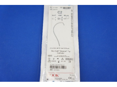Cook Medical G11994 C2 Slip-Cath Beacon Tip Cath 5.0F x 65cm (x)