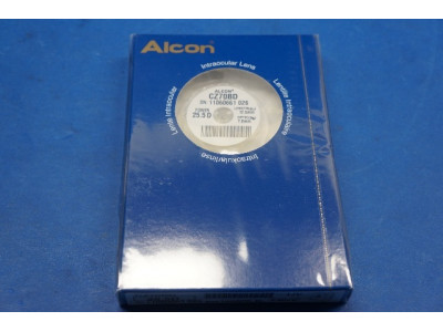 Alcon CZ70BD Intraocular Lens 25.5D, Length 12.5mm, Optic 7.0mm (x)