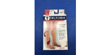 Truform 0845WH-L Large size Compression Stocking Soft Top Open Toe 30-40 mmHg