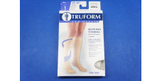 Truform 8865WH-2L 2X-Large size Compression Stocking Soft Top Closed Toe 20-30 mmHg