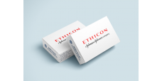 Ethicon J547G Coated VICRYL Suture, MICROPOINT - Spatula, TG140-8 / TG140-8, 18