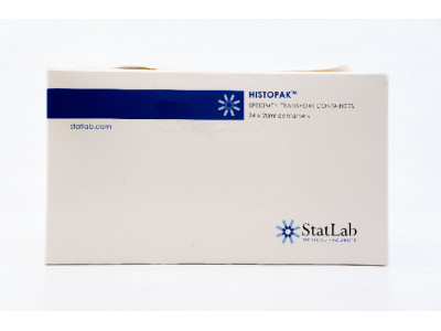 StatLab Histopak Specimen Transport Containers 20ml ~ Pack of 24 (x)