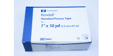 Covidien 5806C Kendall Standard Porous Tape 1inch x 10yd. ~ Pack of 12