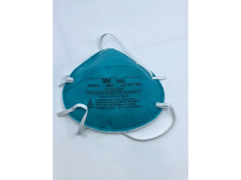 And 1860 3m 120 Particulate Care Health Of Case Respirator Mask ~