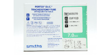 Smiths Medical 503070 Portex DIC Tracheostomy Tube, Cuffed 7.0mm (x)