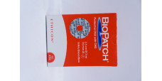 Ethicon 4152 BioPatch Protective Disk with CHG 2.5cm, 7.0mm - Box of 10